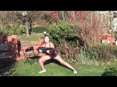 Schulter-, Beine- und Po-Übungen für zu Hause