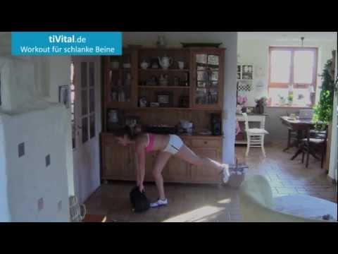 Beine Po Workout 10 Minuten