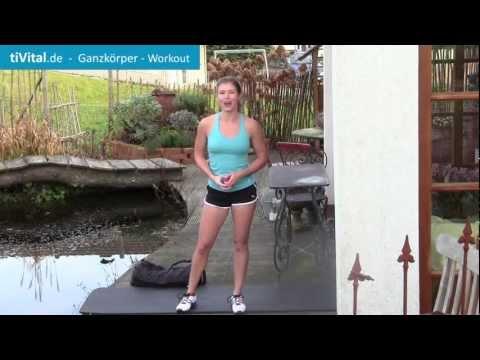 Ganzkörper-Training mit Sandsack in 12 Minuten