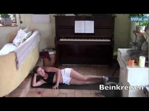 Anleitung Anti Cellulite Workout - Beine Po Übungen