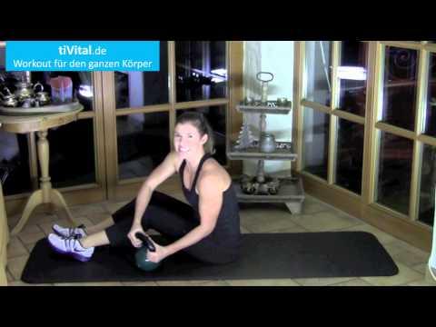 Kettlebell Übungen zum Mitmachen