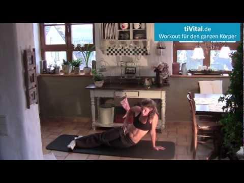 Ganzkörper Training für zu Hause in 15 Minuten