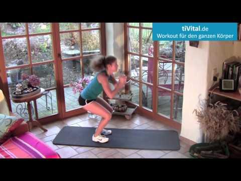 12 Minuten Ganzkörper-Training für zuhause