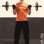 Oberarmtraining – Bizeps Übungen