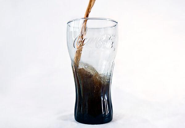 Coca Cola Zero Glas