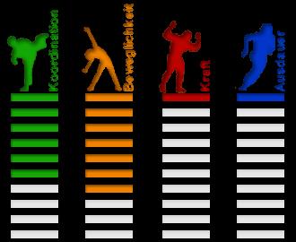 Sportart Pilates Eigenschaften