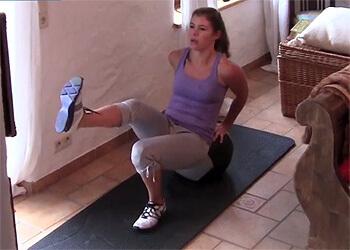 Medizinball-Ganzkörper Workout