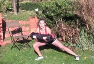 Schulter-, Beine- und Po-Workout in 12 Minuten für zu Hause
