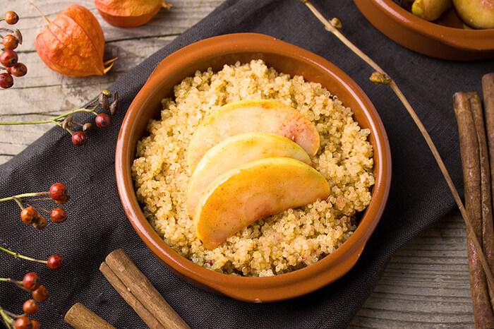 Quinoa im Topf