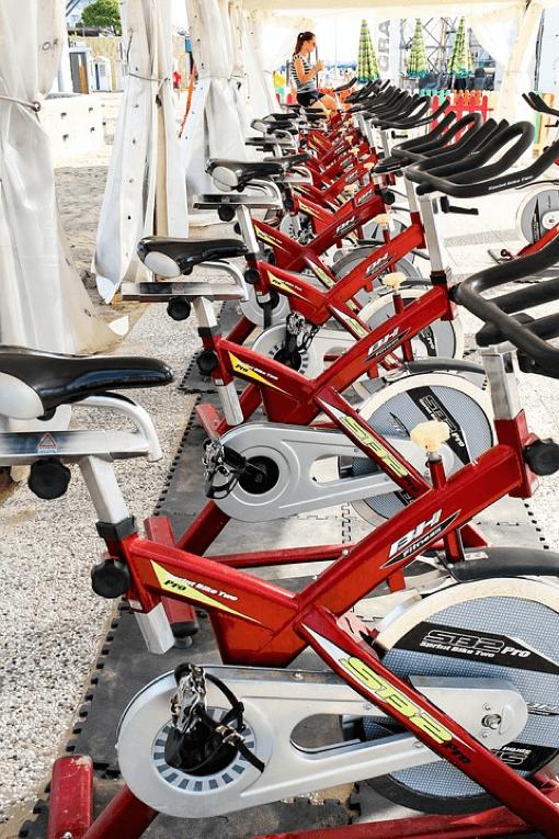 Spinning Fahrräder
