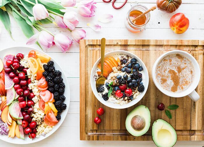 Gesundes und leckeres Frühstück