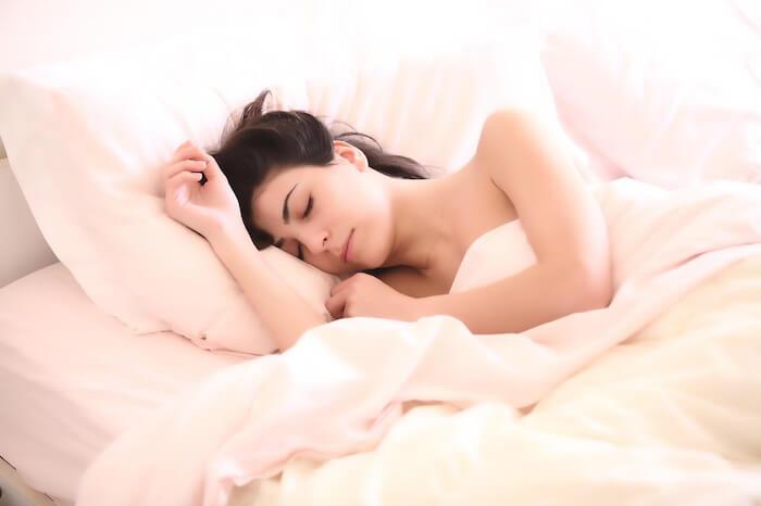 entspanntes Schlafen
